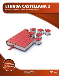 Lengua castellana 3 ESO. Libro de l'alumno (ed. 2015)