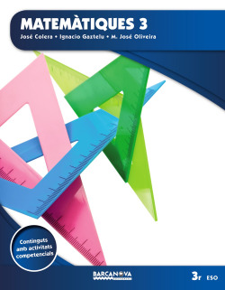 Matemàtiques 3 ESO. Llibre de l'alumne (ed. 2015)