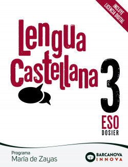 LENGUA CASTELLANA 3R.ESO. MARIA DE ZAYAS. INNOVA. CATALUÑA