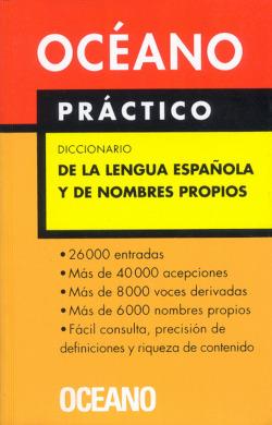 Diccionario de la lengua española y nombres propios
