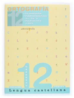 (05).12 ORTOGRAFIA CASTELLANA (4º PRIM) CUADERNO