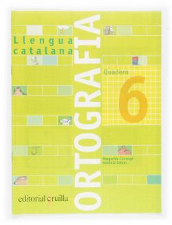 (CAT).(05).6 ORTOGRAFIA CATALA (3R PRIM).QUADERN