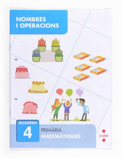 (CAT).(13).QUAD.NOMBRES-OPERACIONS (4-2N PRIM) MATEMATIQUES