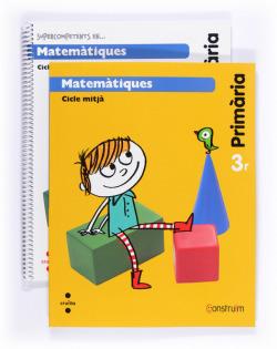 ANT/(CAT).(14).MATEMATIQUES 3R.PRIM.(LIBRO+CUAD).(CONSTRUIM