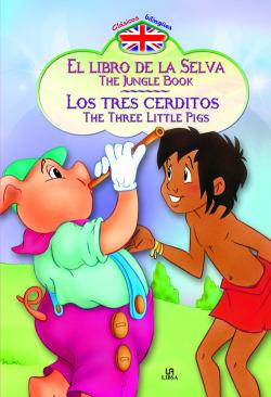 Libro de la selva-tres cerditos