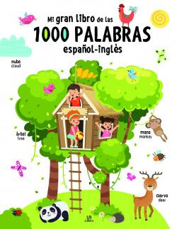 Mi Gran Libro de las 1.000 Palabras Español-Inglés