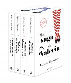 La saga de Valeria (edición pack)