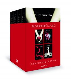Saga Crepúsculo (edición pack con: Crepúsculo , Luna nueva , Eclipse , Amanecer)