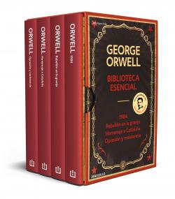 Biblioteca esencial George Orwell (1984 , Rebelión en la granja , Homenaje a Cataluña , Opresión y resistencia)