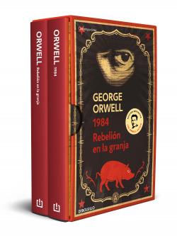 George Orwell (pack con las ediciones definitivas avaladas por The Orwell Estate de 1984 y Rebelión en la granja)