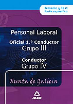 Oficial 1ª conductores (grupo iii) y conductores (grupo iv) personal laboral de