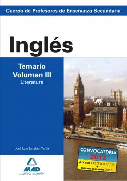 Inglés.temario.(vol.III)