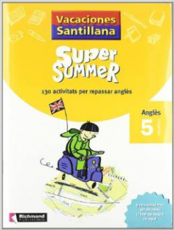 Super summer 5 catalan book+cd+reader+cd reader