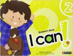 (08).I CAN 2.(4 AÑOS) ST+STICKERS+CD