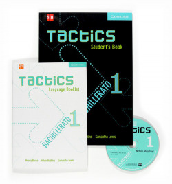 TACTICS 1ºBACH (LIBRO)/EDICION ESPAÑOL