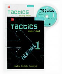 TACTICS 1ºBACH (LIBRO)/EDICION INGLES