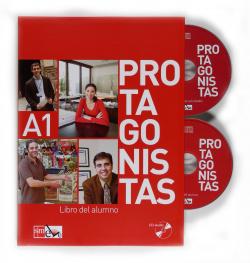 Protagonistas.(a1) libro (cd)