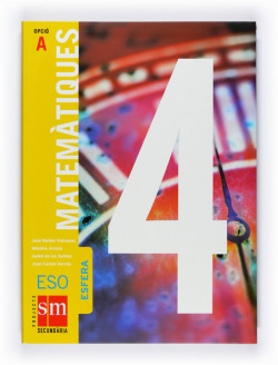 ANT/(VAL).(08).ESFERA.MATEMATIQUES 4T.ESO OPCIO A