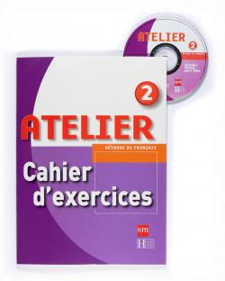 ANT/(08).F RANCES ATELIER 2O.ESO (CAHIER+CD-ROM)