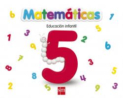 (13).CUADERNO MATEMATICAS 5.(4 AÑOS)./EDUCACION INFANTIL