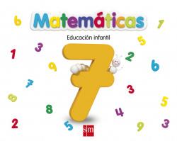 (13).CUADERNO MATEMATICAS 7.(5 AÑOS)./EDUCACION INFANTIL