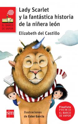 Lady Scarlet y la fantastica historia niñera leon