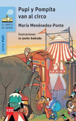 Pupi, pompita en el circo