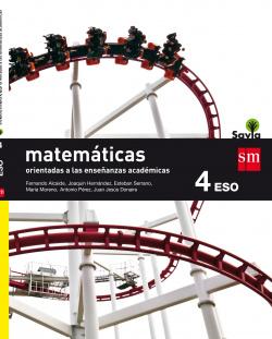 (16).MATEMATICAS ACADEMICAS 4ºESO *1VOLUMEN* (BACH) SAVIA