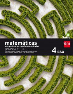 (16).MATEMATICAS APLICADAS 4ºESO *TRIMESTRES* (SAVIA.FP)