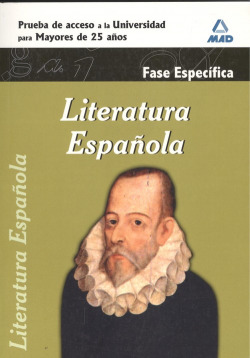 LITERATURA ESPAÑOLA. FASE ESPECIFICA