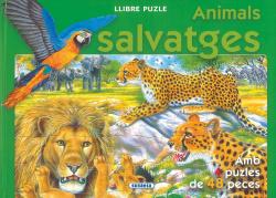 Animals salvatges (Llibre puzle 48 peces)