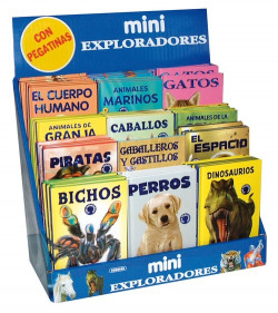 Mini exploradores (12 Títulos)