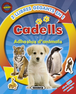 Cadells i adhesius d'animals (2 llibres en 1)