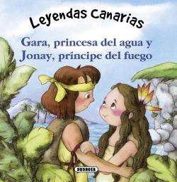 Gara, princesa del agua y Jonay, príncipe del fuego