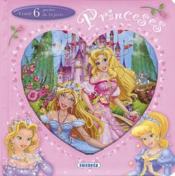 Princeses. Llibre puzle 12 peces