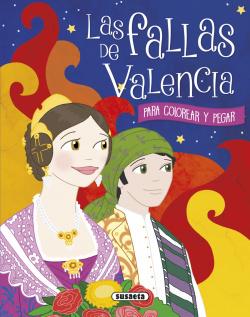 Fallas de Valencia para colorear y pegar
