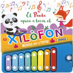 El panda aprèn a tocar el xilofòn