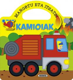 kamioiak (margotu eta itsatsi)