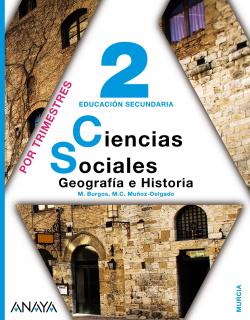 C.SOCIALES 2ºESO GEOGRAFIA HISTORIA TRIMESTRAL