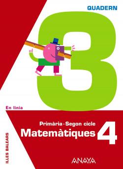 QUAD.MATEMATIQUES 3-4T.PRIM.(EN LINIA)