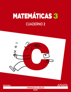 Cuaderno matematicas 2-3ºprimaria. Aprender es crecer. Valencia