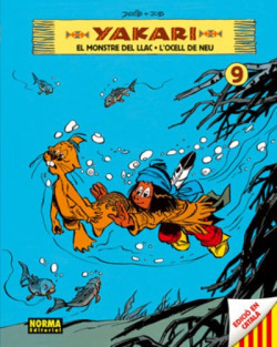 Yakari 9, El monstre del llac L'ocell de neu