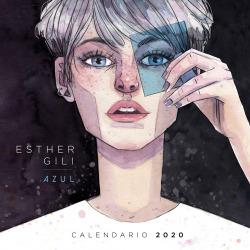 CALENDARIO AZUL ESTHER GILI 2020