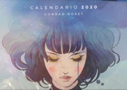 CALENDARIO GRIS CONRAD ROSET