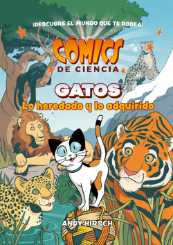 COMICS DE CIENCIA. GATOS. LO HEREDADO Y LO ADQUIRIDO