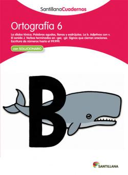 Ortografía, Educación Primaria. Cuaderno 6