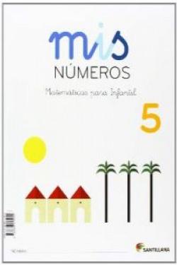 (13).MIS NUMEROS 5 (5 AÑOS) TALLER MATEMATICAS (CUAD+ALBUM)