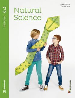 (MAD).(14).NATURAL SCIENCE 3º.PRIM.(STUDENT+CD) *EN INGLES*