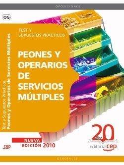 Peones y Operarios Servicios Multiples Test y Supuestos Practicos