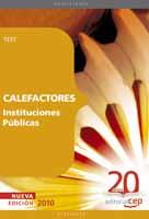 Calefactores Instituciones Publicas Test